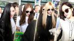 Chùm ảnh T-ara đẹp không tì vết tại sân bay Tân Sơn Nhất sáng nay