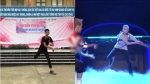 Nam sinh Việt tỉnh bơ cover lại điệu nhảy đeo cặp gây sốt