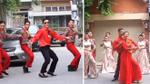 Đám cưới đậm chất '60 năm cuộc đời' siêu vui nhộn của cặp đôi dancer Sài Gòn
