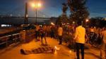 Tai nạn hy hữu: Đang nhậu cùng bạn trên xà lan, người đàn ông té xuống sông tử vong