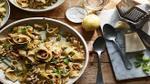 Món ngon mỗi ngày: Mì Ý với đậu tây giòn và nước cốt chanh