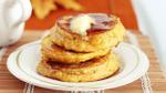 Cách làm pancake bí đỏ vừa nhanh vừa lạ miệng