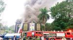 Cháy lớn tại quán karaoke ở Hà Nội, chủ quán khẳng định không có thiệt hại về người