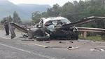 Tai nạn kinh hoàng ở Quảng Nam, ôtô nát vụn, 2 người tử vong tại chỗ