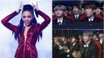 Wanna One - Seventeen không ngừng vỗ tay, há miệng trầm trồ xem màn trình diễn của Tóc Tiên