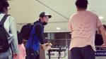Jang Dong Gun mặc giản dị khi tới sân bay Phú Quốc