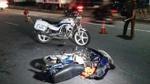 CSGT gây tai nạn trên đường truy đuổi xe vi phạm