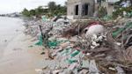 Biển xâm thực đe dọa cuộc sống người dân Nhơn Hải, Ninh Thuận