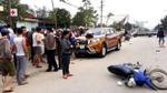 Ô tô 'điên' tông thẳng vào tổ CSGT đang xử lý tai nạn, 6 người bị thương
