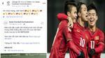Giải bóng đá nơi Messi, Ronaldo đang thi đấu chúc mừng thành tích lịch sử của U23 Việt Nam