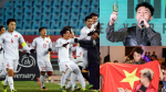 Clip: Sơn Tùng tạm dừng tiệc đầu năm để nâng ly chúc mừng chiến thắng của U23 Việt Nam