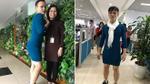 'Việt Nam nói là làm' - thanh niên mượn váy của vợ mặc đi làm sau trận thắng của tuyển U23