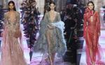 ELie Saab Haute Couture xuân hè 2018: Xẻ sâu và khoe ngực ngút ngàn