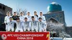 Quá quen với mùa đông âm độ, tuyết rơi dày cũng không làm khó cầu thủ Uzbekistan trong trận chung kết với U23 Việt Nam