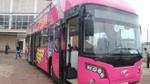 Xe bus 2 tầng đã có mặt tại Hà Nội chờ đón đội tuyển U23 Việt Nam