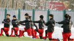 Cận cảnh U23 Việt Nam luyện công lần cuối để đấu U23 Uzbekistan