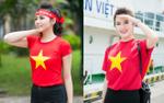 Bí kíp diện áo cờ đỏ, sao vàng cổ vũ U23 Việt Nam chuẩn như hoa hậu