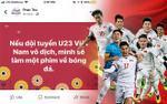 Đạo diễn 'Em là bà nội của anh': Sẽ làm phim về bóng đá nếu U23 Việt Nam vô địch