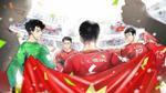 Đây là những khoảnh khắc đáng nhớ nhất của U23 Việt Nam qua loạt ảnh chibi siêu đáng yêu