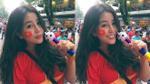 Cổ vũ U23 Việt Nam, nữ sinh Việt nổi bật trên báo Trung Quốc và Thái Lan