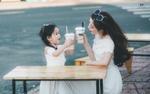 Tan chảy với bộ ảnh của mẹ đơn thân và con gái xinh như thiên thần