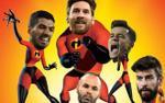 Dàn sao Barca sắp xuất hiện trong 'siêu phẩm' phim hoạt hình
