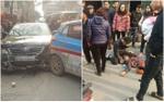 Xe Camry gây tai nạn liên hoàn chiều 28 Tết, nhiều người bị thương nặng