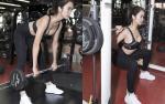 Vũ Ngọc Anh sexy tập gym đầu xuân, hướng dẫn 'tuyệt chiêu' giảm cân sau Tết