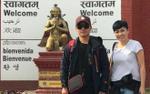Đinh Tiến Đạt cùng Phương Thanh hành hương trên đất Nepal