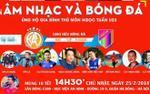 Tuấn Hưng và dàn sao 'Người phán xử' đá bóng ủng hộ thủ môn U23 Việt Nam 'cứu' mẹ