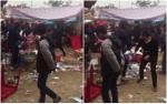 Nam thanh niên bị truy sát trọng thương trước cửa chùa ngày đầu năm