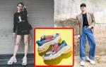 Tóc Tiên, Đức Phúc cập nhật ngay giày 'ông già' quái lạ hứa hẹn tạo trend năm 2018