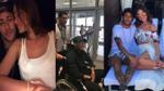 Đi xe lăn, Neymar vẫn quấn quýt bên bạn gái