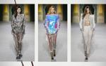 Người mẫu diện quần trong suốt, tự tin catwalk trong show thu, đông 2018 của Balmain