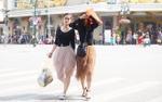 Đang mùa xuân bỗng nắng nóng như ngày hè, người Hà Nội mặc áo cộc ra đường