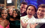 Các sao liên tục chia sẻ khoảnh khắc tại Oscar 2018 trên mạng xã hội