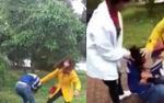 Khởi tố 2 đối tượng chặn đánh, lột áo nữ sinh giữa đường vì ghen tuông