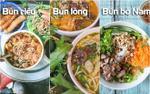 Dành cả 'thanh xuân' đi ăn nhưng đố bạn nhớ hết tên 1.500 loại bún ở Hà Nội