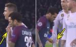 Cựu sao Barca 'chơi bẩn', bôi nước mũi lên áo của Ronaldo