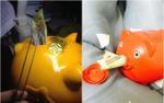 Kỷ niệm 'tuổi thơ dữ dội': Một tay ra sức vỗ béo heo đất, tay còn lại dùng nhíp rút ruột