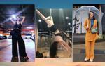 Bảo Anh diện cả cây đen, 'gái ế' Yaya Trương Nhi ăn mặc sexy múa cột