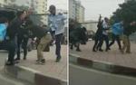 Tạm đình chỉ công tác tài xế và phụ xe buýt đánh người đàn ông sau va chạm giao thông