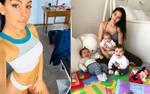 Bạn gái Ronaldo khoe dáng 'nuột nà' sau 4 tháng sinh con