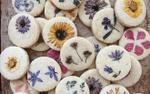 Món bánh quy hoa tươi như chứa cả mùa xuân vừa đẹp đã mắt lại cực ngon miệng