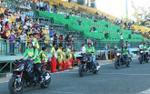 Dàn hot girl đi mô tô khủng 'quậy' tưng bừng chào mừng Quang Hải, Duy Mạnh