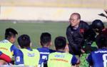 Cận cảnh thầy Park dành 2 giờ truyền 'bí kíp 3-4-3' cho ĐTVN ở Jordan