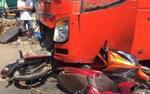 Xe khách gây tai nạn liên hoàn, 5 người thương vong