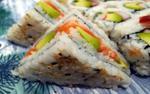 Độc đáo món cơm nắm phong cách sandwiches chỉ có ở Lon Don