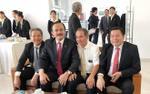 Bầu Thắng, bầu Đức và bầu Tú gặp nhau vì bóng đá Việt Nam