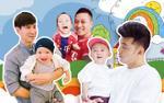 Sao Việt từ 'soái ca' thành 'bố bỉm sữa': Cuộc hành trình chỉ cần tình yêu thương!